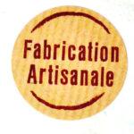 Artisanat français couture pochette lingette bambou