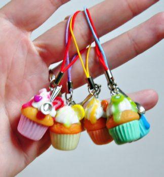 Porte-clés cupcake