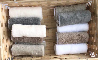 Les serviettes invité
