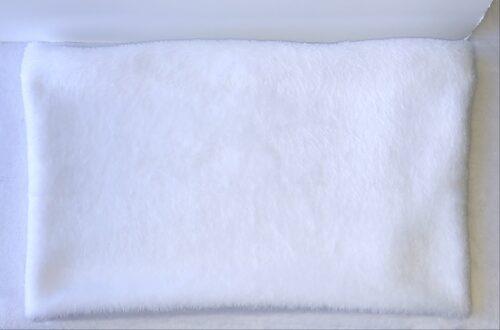 snood blanc en polaire