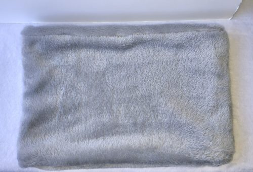 snood en polaire gris